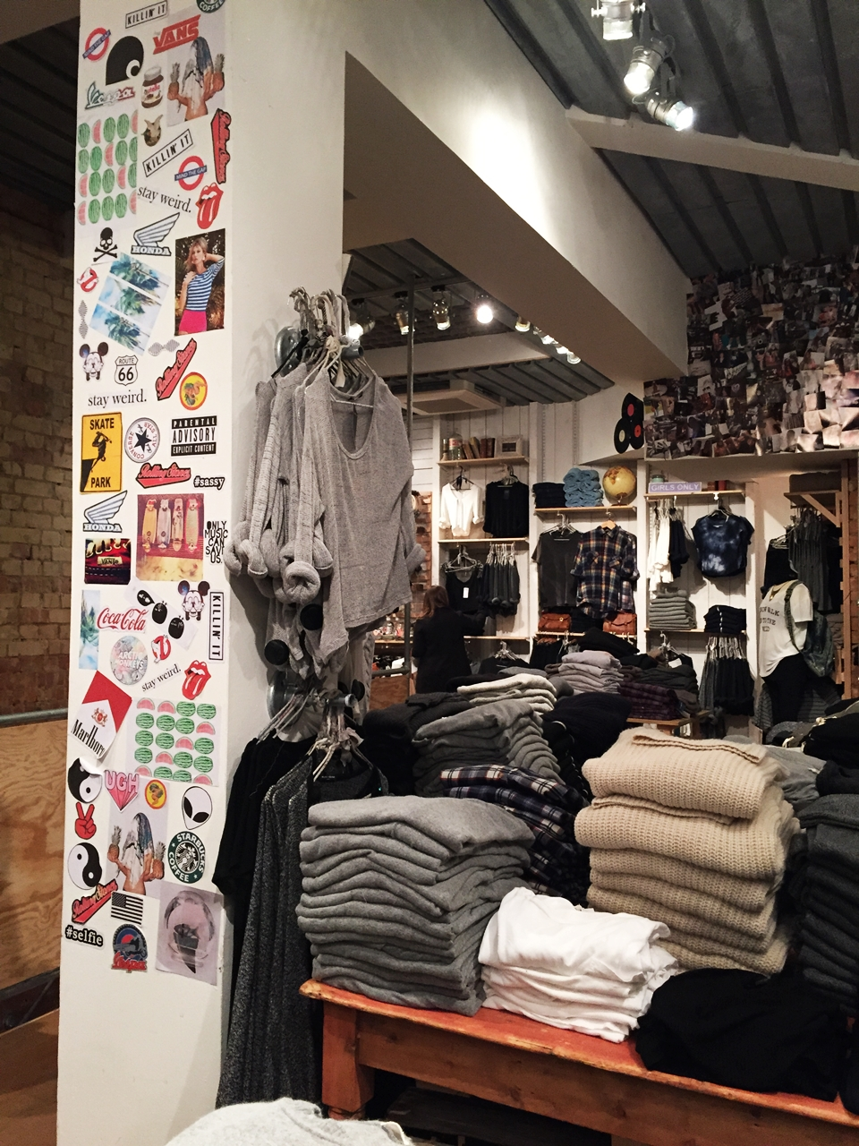 kings road brandy melville london