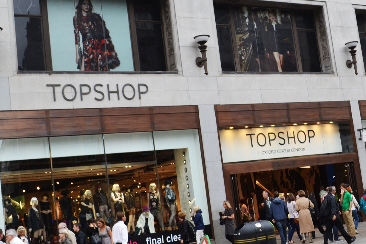topshop flagship store london oxford circus