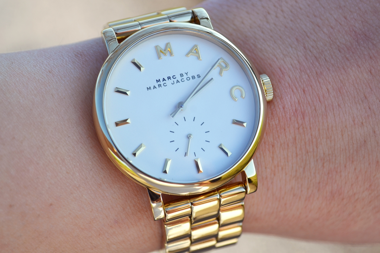 watch marc by marc jacobs white