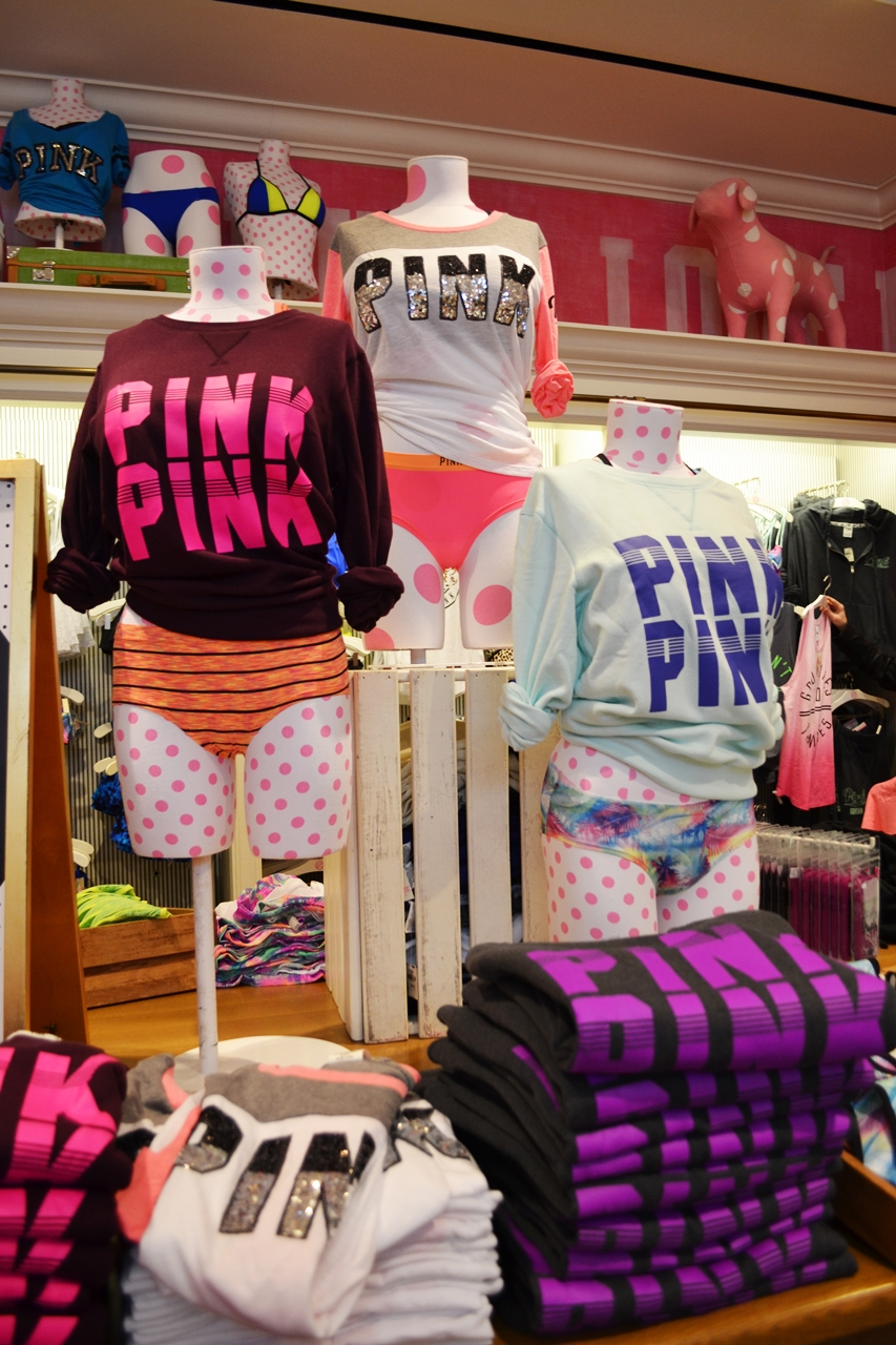 victorias secret london store shopping